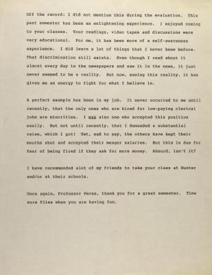 Correspondence to Richie Pérez