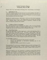 Comité Noviembre - Minutes