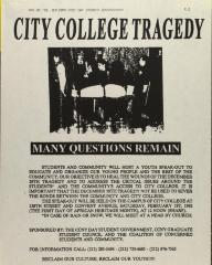 City College Tragedy - Many Questions Remain