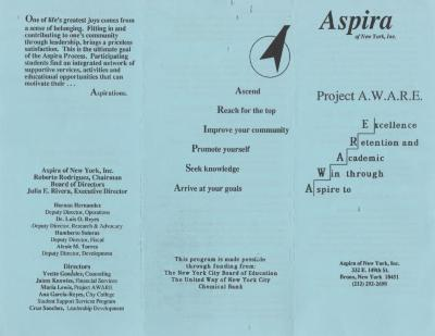 ASPIRA of New York/ Project A.W.A.R.E