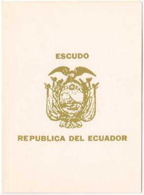 Invitation from La Casa Cultural Ecuatoriana de Nueva York, INC.