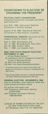 Countdown to Election '88 - Choosing the President