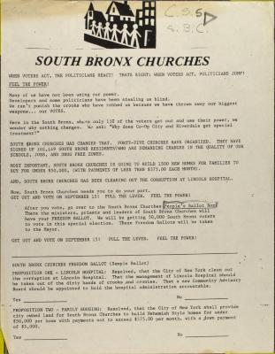 South Bronx Churches