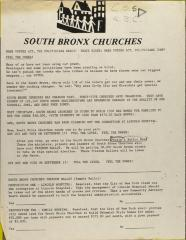 South Bronx Churches