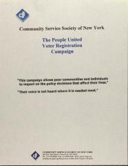 The People United Voter Registration Campaign