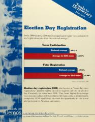 Election Day Registration