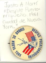 Button: Desfile Puertorriqueño