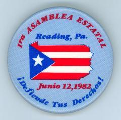 Buttons: 1ra Asamblea Estatal