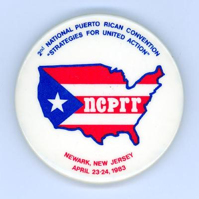 Button: 2nd National Puerto Rican Convention