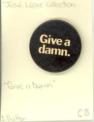 Button: Give a damn
