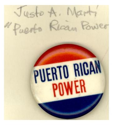 Button: Puerto Rican Power