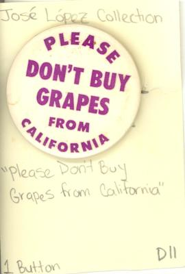 Button: Please don't buy grapes from California