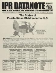 The Status of Puerto Rican Children in the U.S.