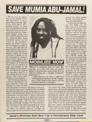 Save Mumia Abu-Jamal!