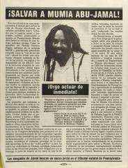 Salvar A Mumia Abu-Jamal! / Save Mumia Abu-Jamal!