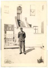 Daniel Camacho in his World War II service uniform