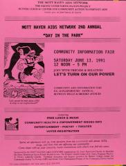 "Mott Haven AIDS Network 2nd Annual ""Day in the Park"""