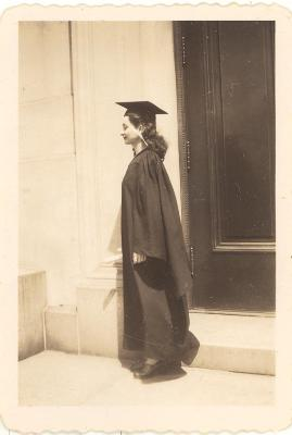 Blase Camacho during her commencement