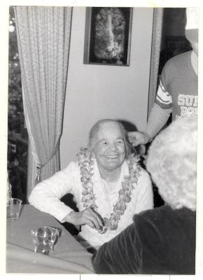 Mary Caravalho smiling