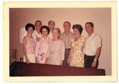 Camacho Caravalho family reunion
