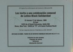 The CSS Bronx Voter Participation Project Invites You to a Celebration of Black-Latino Solidarity