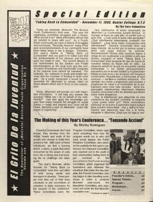 El Grito de la Juventud / The Scream of Youth