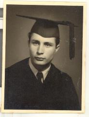 Larry Camacho's graduation portrait