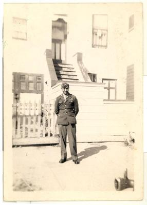 Daniel Camacho in his World War II service uniform