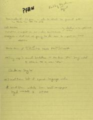 People for the American Way - Manuscript Notes