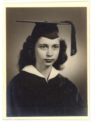 Blase Camacho graduation portrait