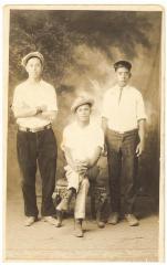 Daniel Camacho, Thomas Negrones, and Ernest Negrones