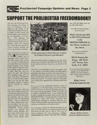 ProLibertad Freedom Campaign Updates and News