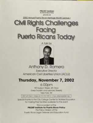 Civil Rights Challenges Facing Puerto Ricans Today