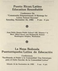 Community Empowerment: A Strategy For Latino School Success