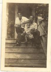 Camacho family on porch