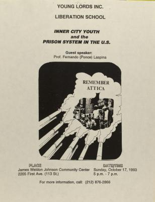 Inner City Youth and the Prison System in the U.S.