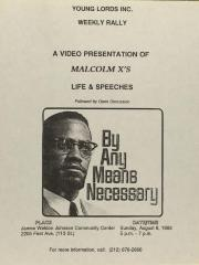 A Video Presentation of Malcolm X's Life & Speeches