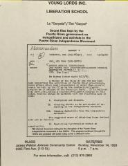 La 'Carpeta' / The Carpet: Secret Files Kept by the Puerto Rican Government on Sympathizers and Activists in the Puerto Rican Independence Movement