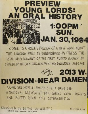 Preview Young Lords: An Oral History