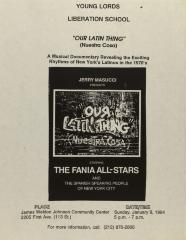 """Our Latin Thing"" (Nuestra Cosa): A Musical Documentary Revealing the Exciting Rhythms of New York's Latinos in the 1970s"