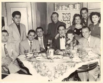 Musicians Tito Rodriguez, Joey Valle, Cesar Concepcion, and others