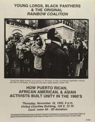 Young Lords, Black Panthers, & The Original Rainbow Coalition: How Puerto Rican, African American & Asian Activists Built Unity in the 1960s