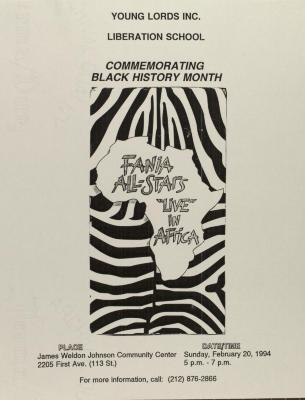 Commemorating Black History Month with the Fania All-Stars
