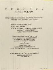 Respect Youth Agenda