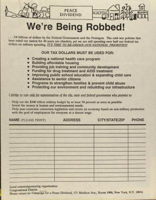 We're Being Robbed!