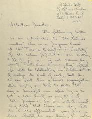 Correspondence from Wilfredo Seda and Angel Vélez