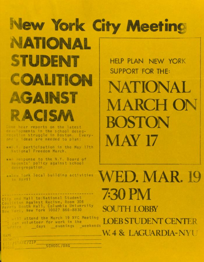 National March on Boston