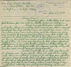 Correspondence from Pedro Avila