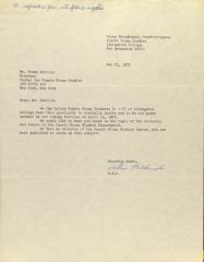 Correspondence from Union Estudiantial Puertorriquena