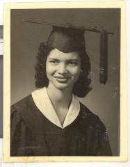 Rose Marie Camacho's graduation portrait